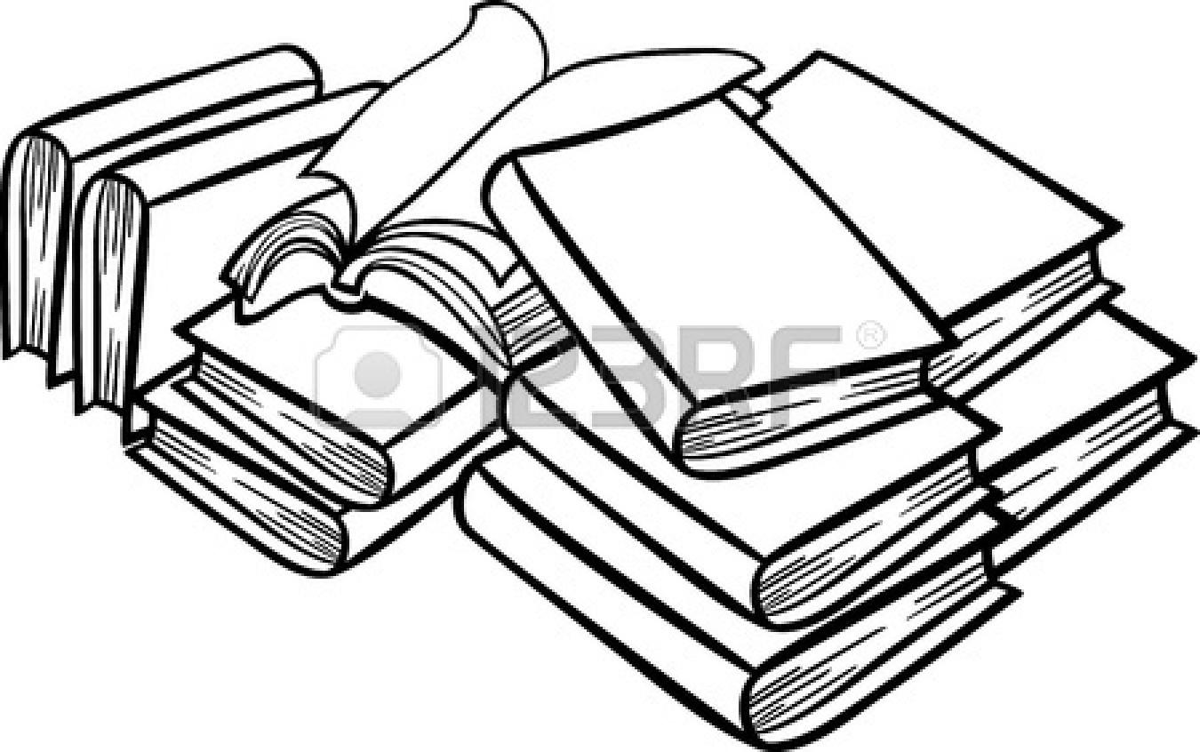 Stack Of Books Clip Art