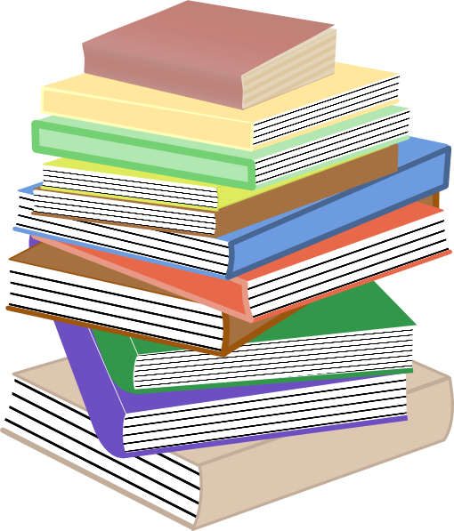 books stack clip clipart childrens clipartpanda drawing reports terms