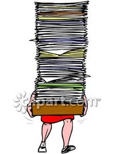 paper stack clipart - photo #23