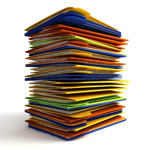 paper stack clipart - photo #4