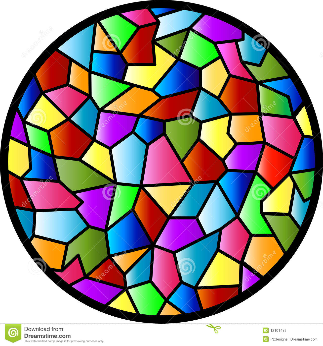 Stained Glass Clip Art : Stained glass clipart panda free
