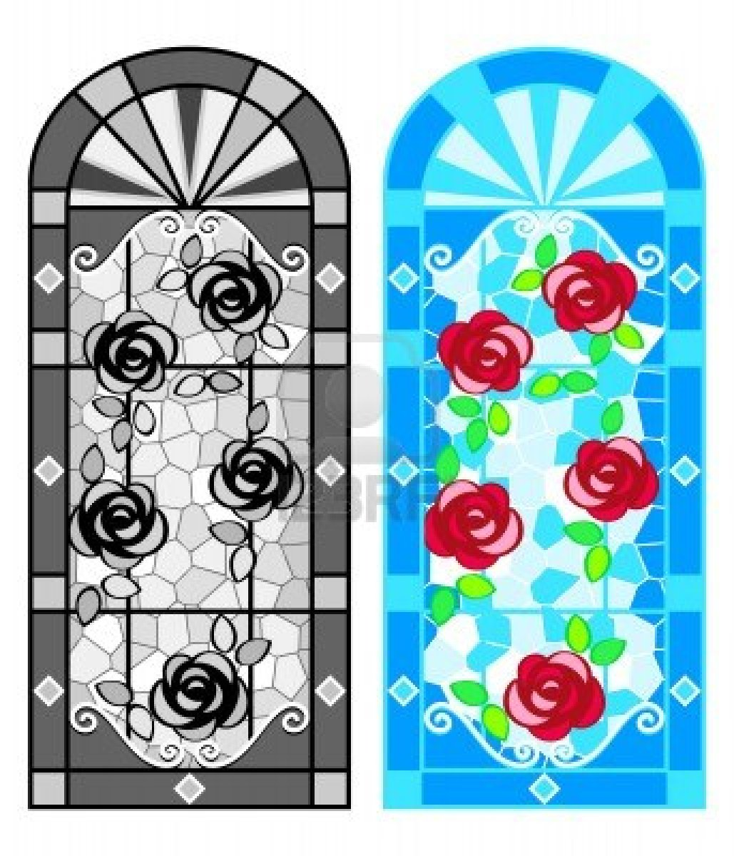 free clipart stained glass window - photo #9