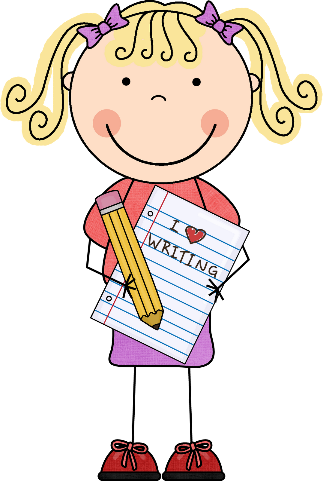 School Children Writing Clipart | Clipart Panda - Free Clipart Images