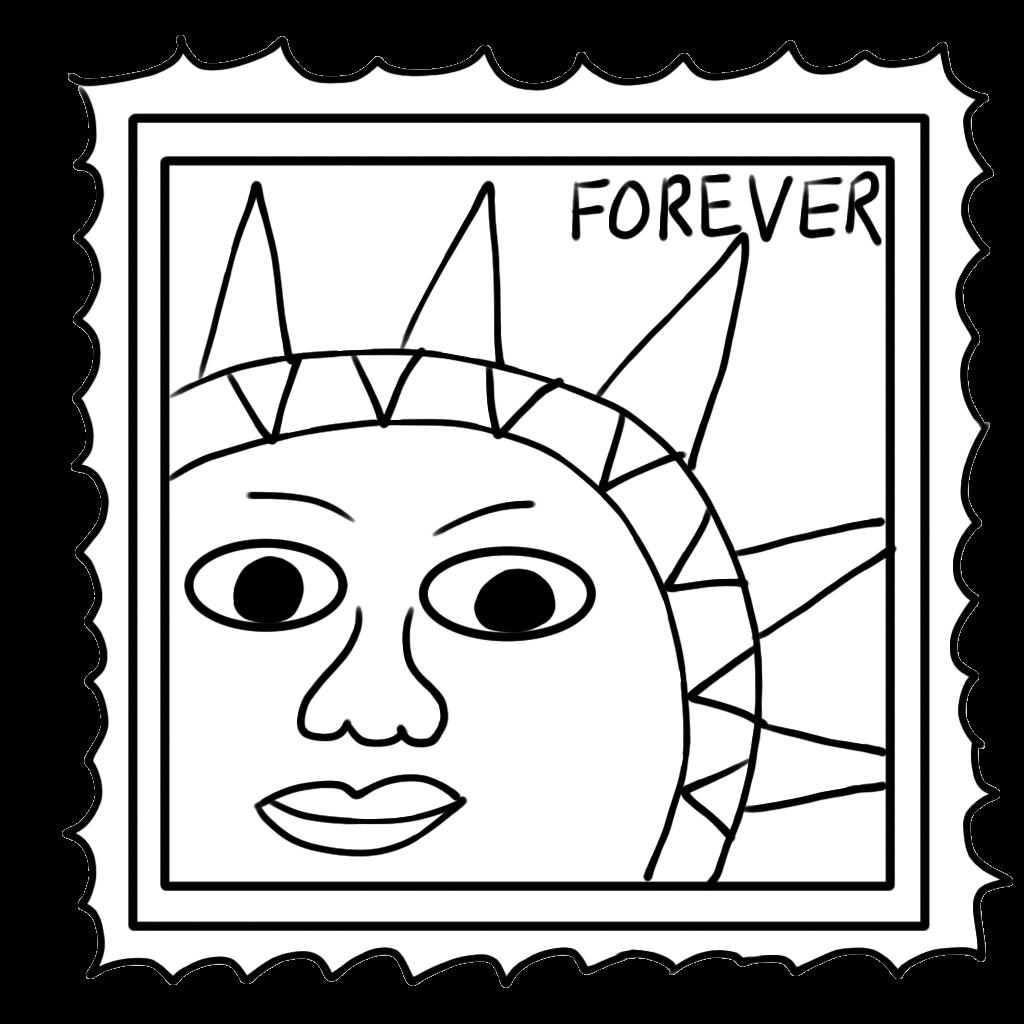 Stampy Clip Art