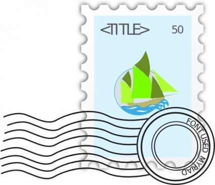 free postage stamp vector  for pc