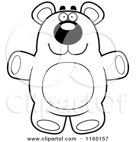 Cartoon standing bear coloring pages ~ Standing Black Bear Drawing | Clipart Panda - Free Clipart ...