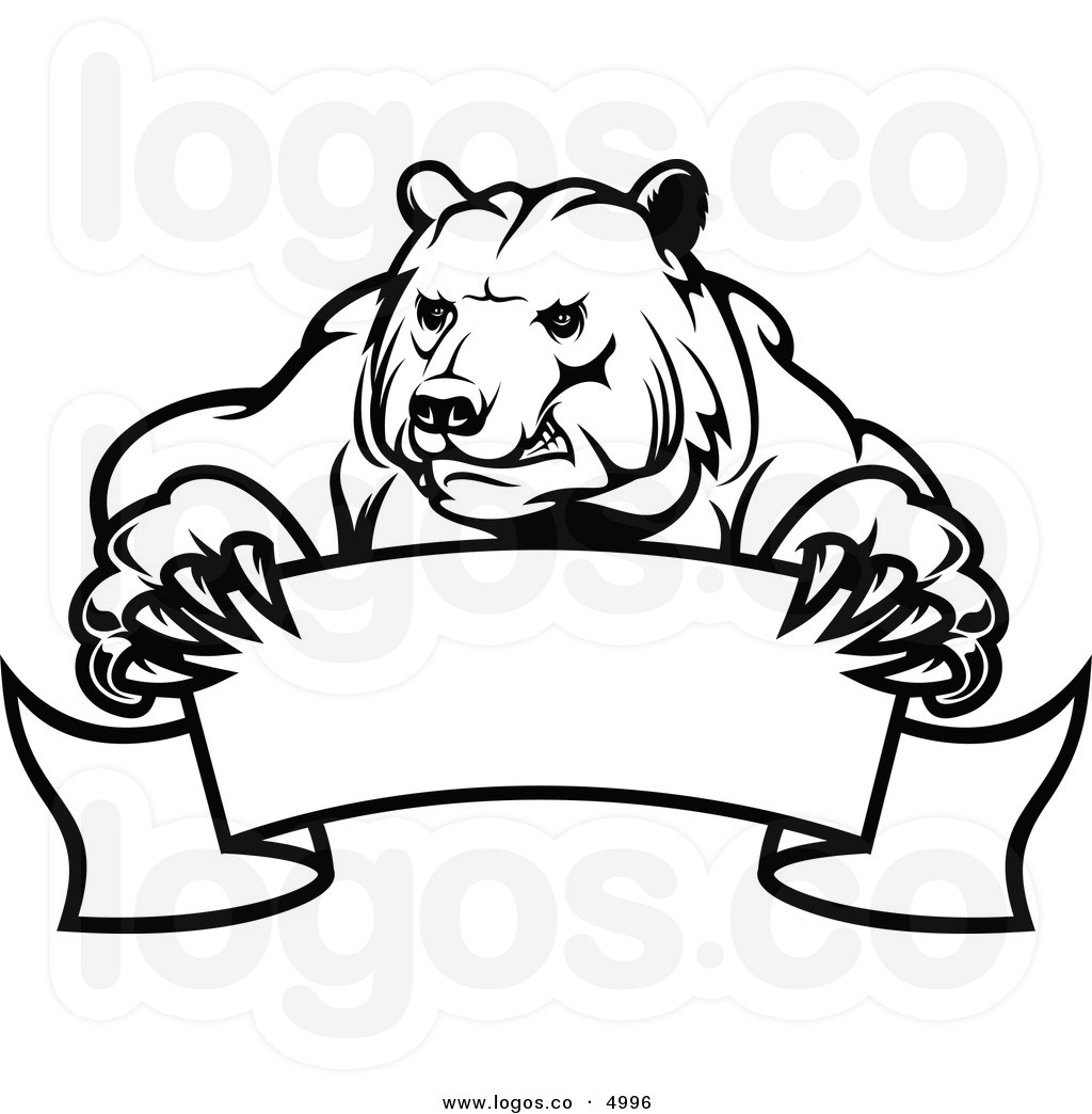 Standing Black Bear Drawing Clipart Panda Free Clipart