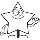 Star Cartoon Black And White | Clipart Panda - Free ...
