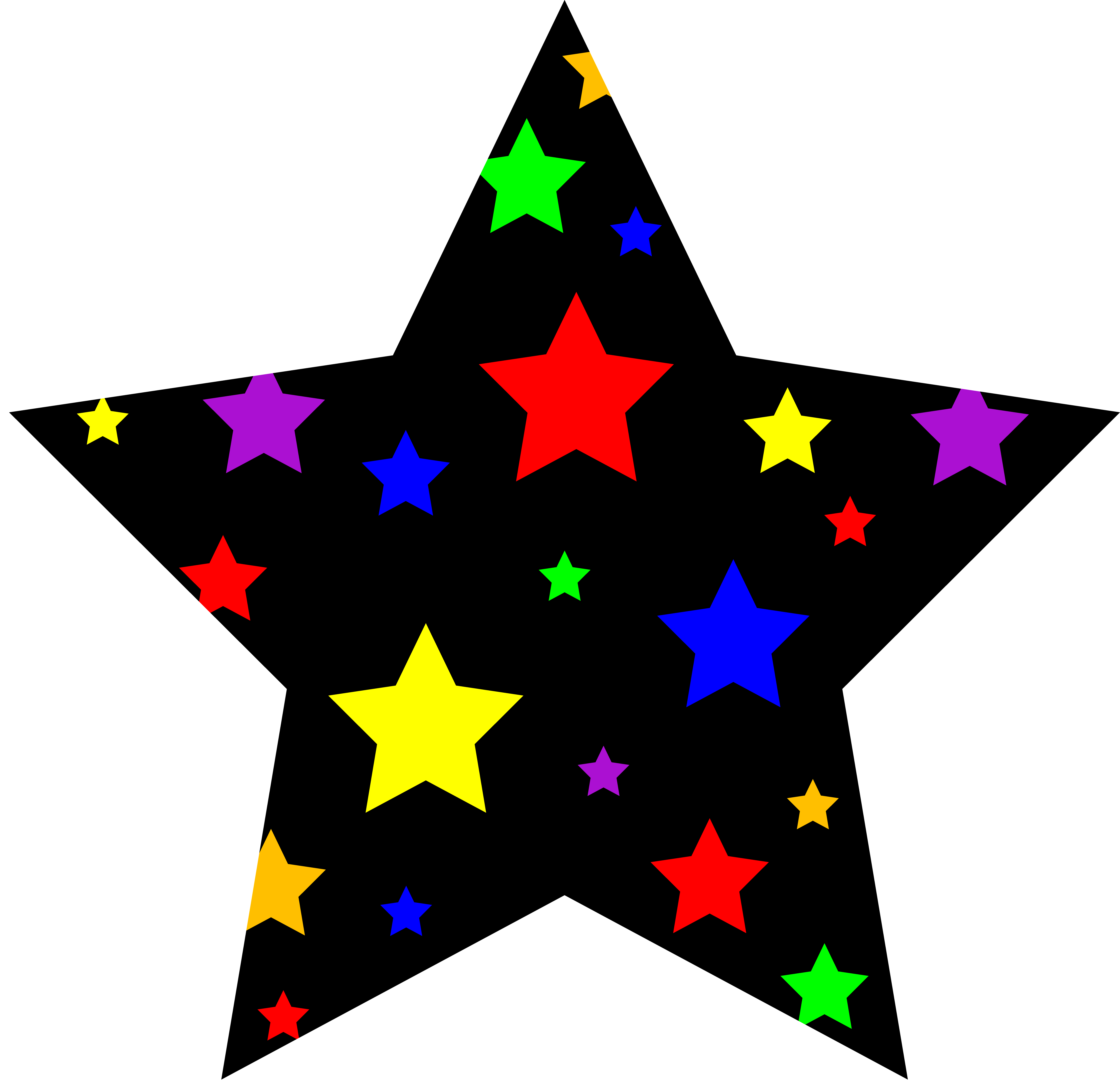 Clip Art Free Star Clipart star clip art outline clipart panda free images art