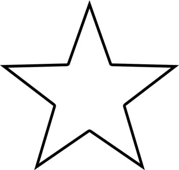 Star Clipart Black And White Border | Clipart Panda - Free ...