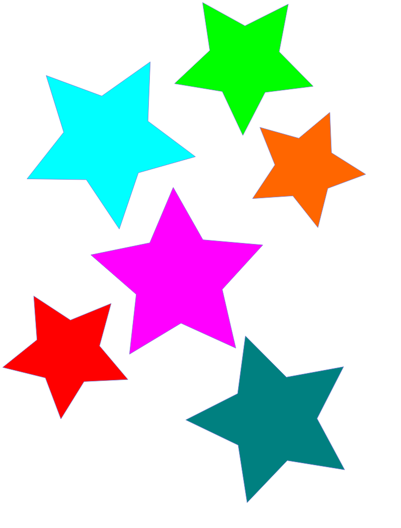 Star clipart for kids clipart panda free clipart images for Images of stars for kids