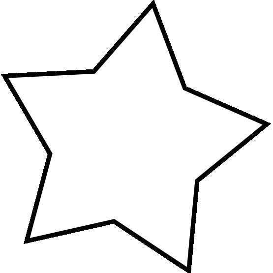 Line Art Star : Star line clipart panda free images