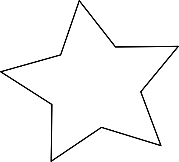 Star Outline | Clipart Panda - Free Clipart Images