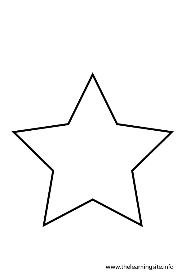 small star template printable free - star outline clipart panda free clipart images
