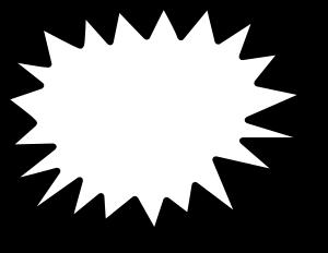 Starburst Clip Art Outline | Clipart Panda - Free Clipart Images