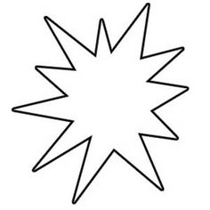 starburst20clipart20black20and20white