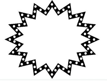 free black and white starburst clipart panda free clipart images rh clipartpanda com starburst clip art black and white