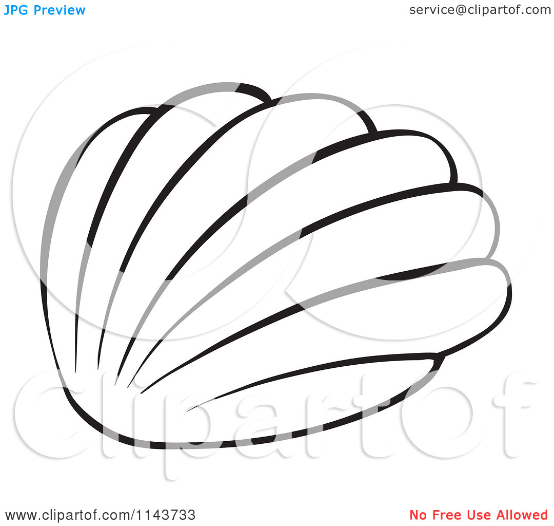 Cartoon Of A Black And White | Clipart Panda - Free Clipart Images for Starfish Clipart Black And White  56mzq