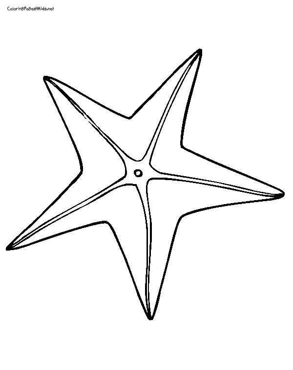 clipart info - Starfish Coloring Pages