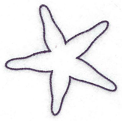 Starfish outline. Clip art clipart panda