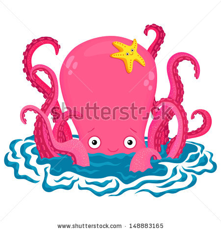 Octopus 434322 likewise Royalty Free Stock Image Octopus Cartoon Image24127936 moreover Cartoon Sea Life Set 3 Vector 4206236 together with Royalty Free Stock Photo Cartoon Hand Draw Fish Seamless Pattern Image22139685 in addition Cartoon owl. on octopus cartoon drawing cute