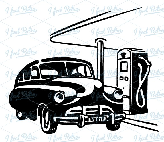 automobile at the gas station clipart panda free clipart images