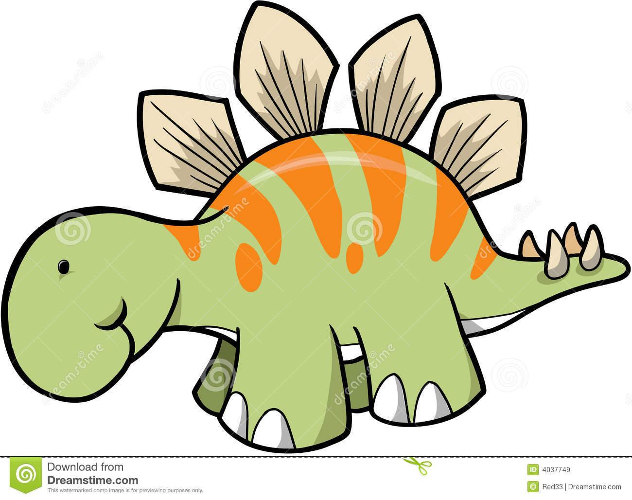 Stegosaurus Clip Art Black And White | Clipart Panda - Free Clipart ...
