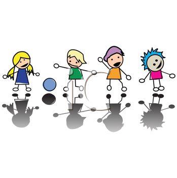 Kids Playing Games Clip Art Stick%20friends%20clipart