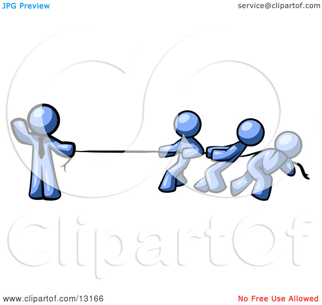 Tug of war rope clipart