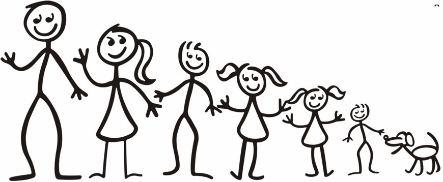 Stick Person Family | Clipart Panda - Free Clipart Images