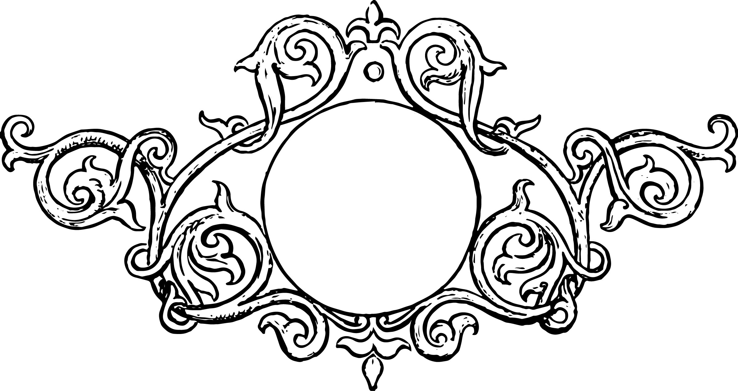 free clipart ornate frames - photo #31