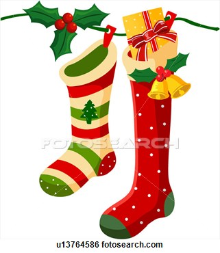 Stocking 20clipart | Clipart Panda - Free Clipart Images
