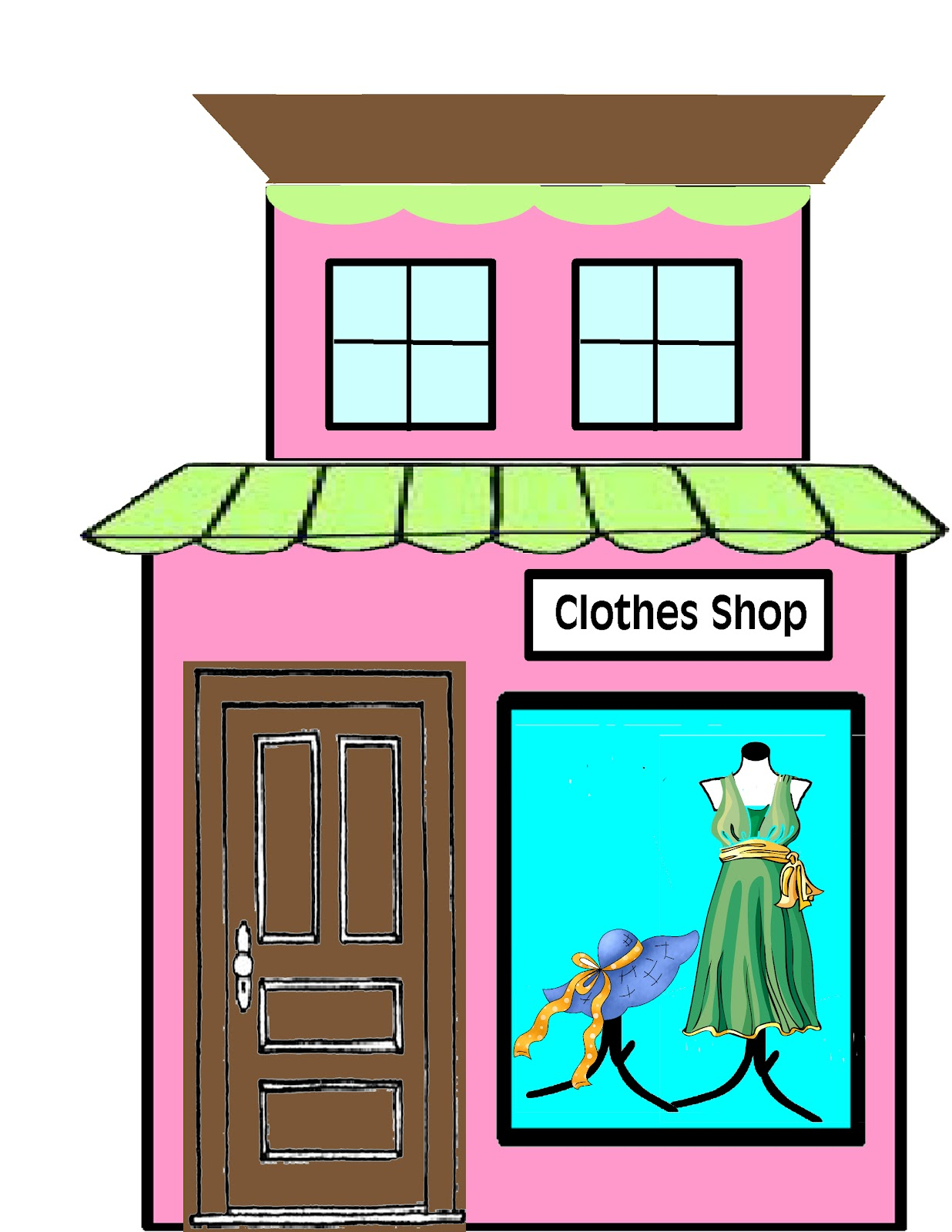 Store Clipart Black And White | Clipart Panda - Free ...
