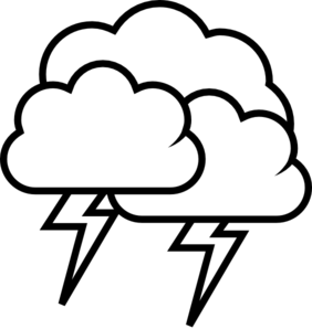 Clip Art Thunderstorm Clipart storm clouds clipart panda free images