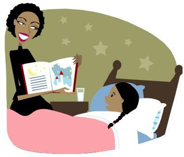 family reading night clip art clipart panda free