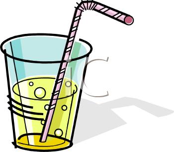 Bendy Water Glass