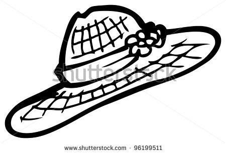 Straw Hat Clipart