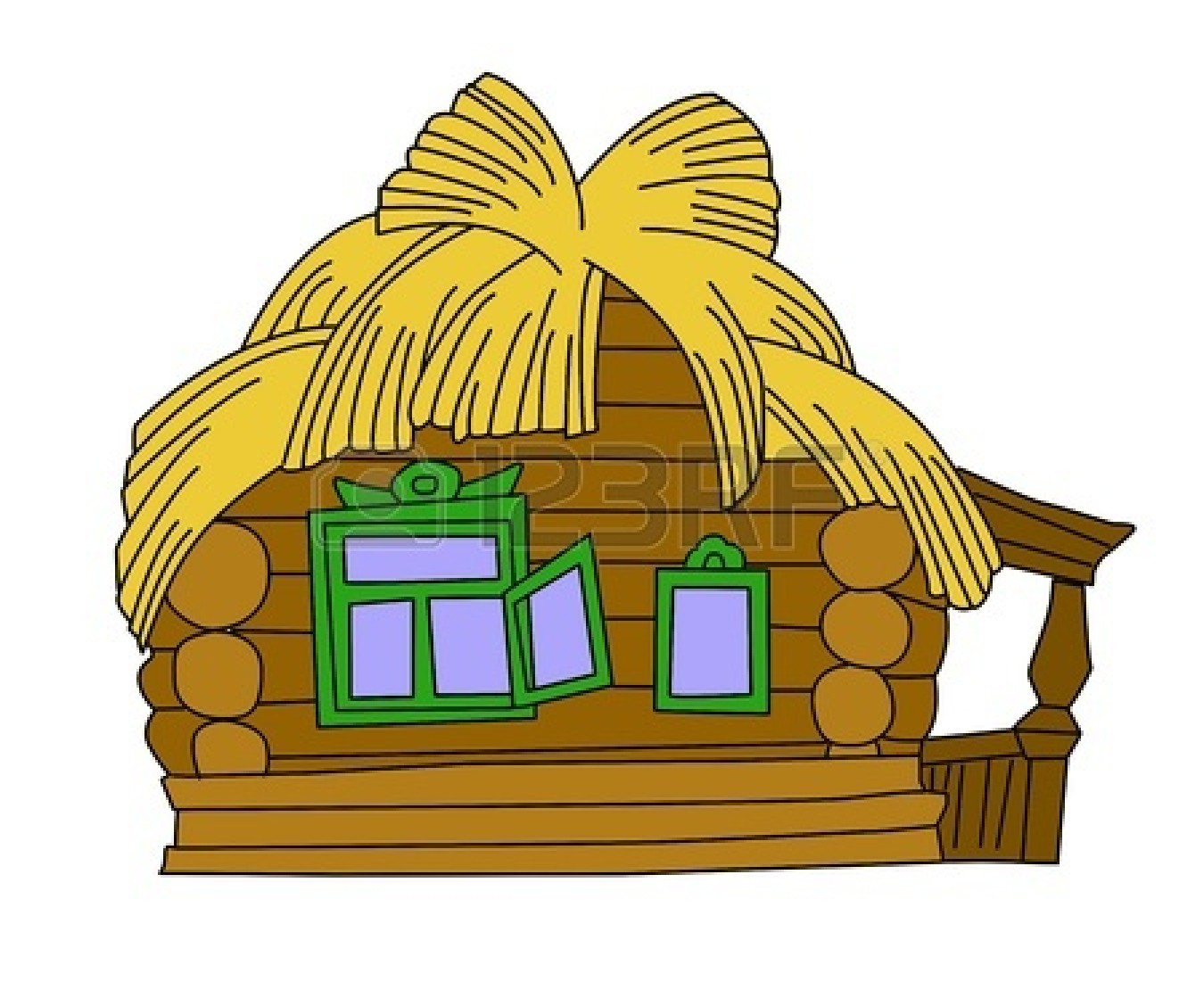 Straw House Clipart | Clipart Panda - Free Clipart Images