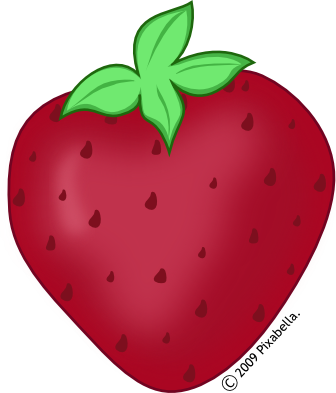 Clip Art Clipart Strawberry strawberry clipart black and white panda free clip art