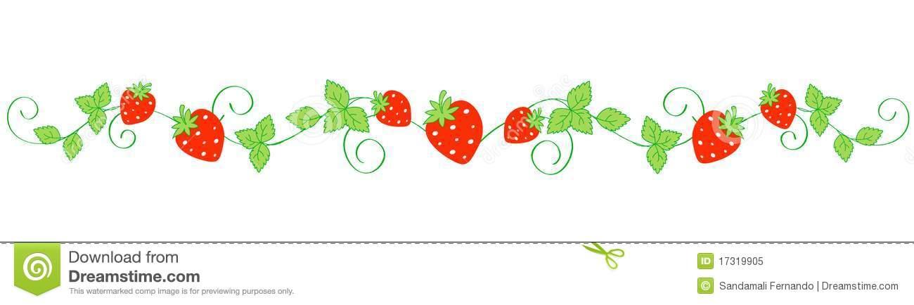 Strawberry Clipart Border | Clipart Panda - Free Clipart ...