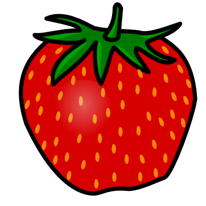 Clip Art Clipart Strawberry strawberry clipart black and white panda free clipart