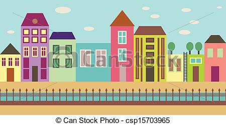 City street | Clipart Panda - Free Clipart Images