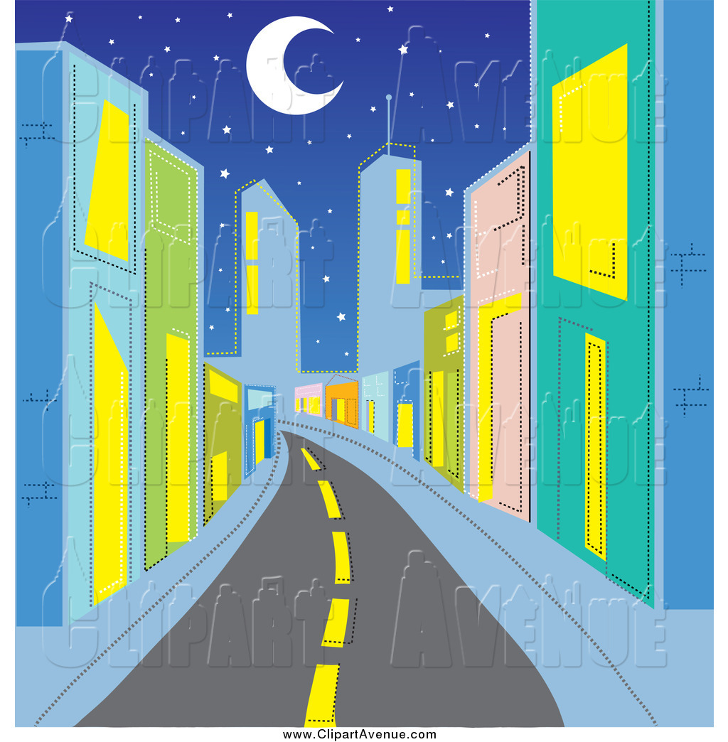 clip art city street - photo #31