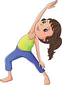 Stretching Clip Art | Clipart Panda - Free Clipart Images
