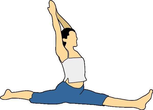 Proper Stretching Clip Art