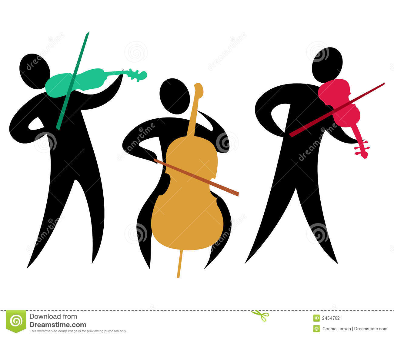 String Band Clip Art