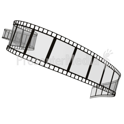 Scrolling movie clip