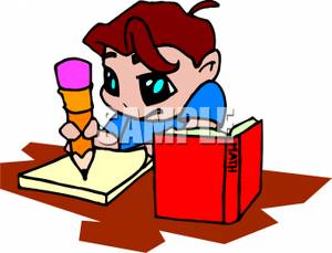 student%20doing%20homework%20clipart