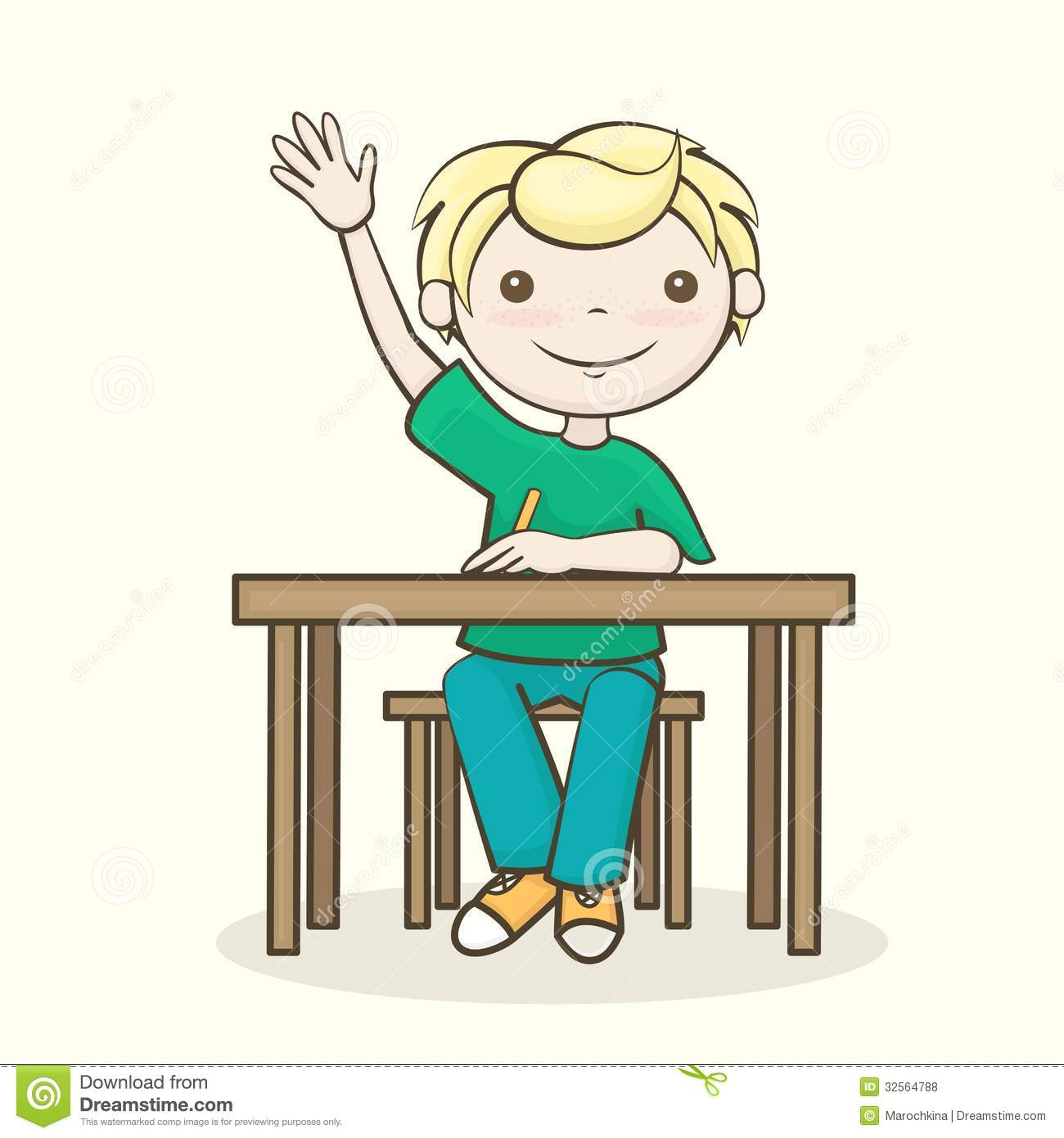 Students Sitting Clipart