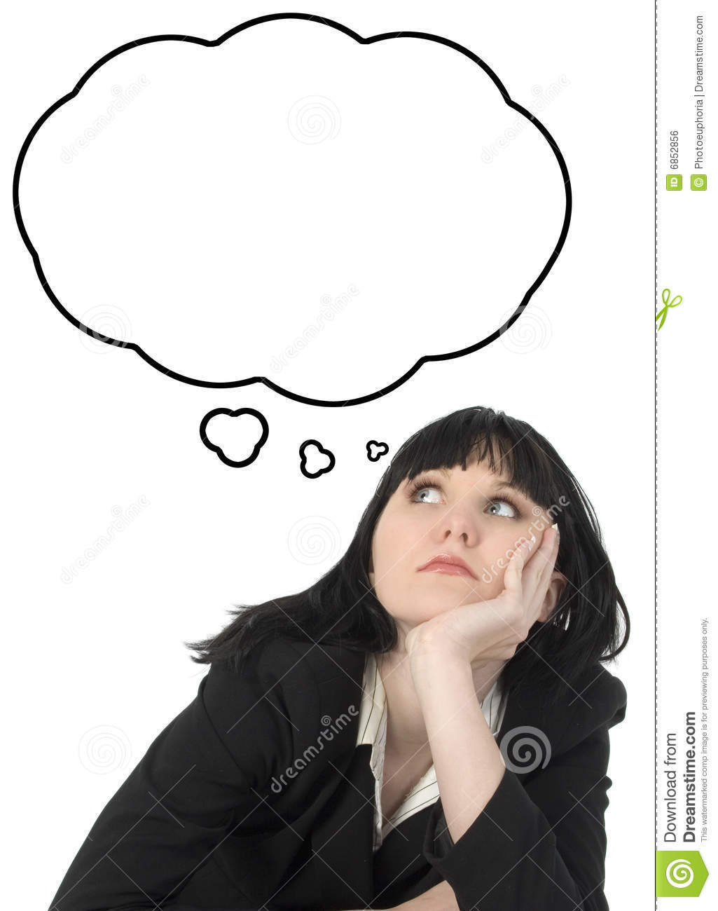 person thinking with thought bubble | clipart panda - free clipart